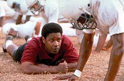 Herman Boone Challenges His Team